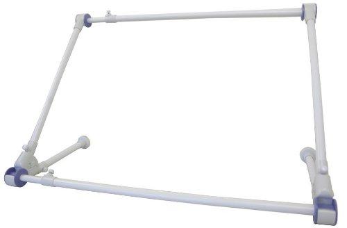 タダプラ 速乾ハンガー ホワイト HG-100 【エアコンに引っかけるだけ! 洗濯物が早く乾く! 】