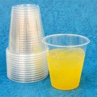 【クリックで詳細表示】プラスチックカップ360 (透明) 1000個: ヘルス&ビューティー