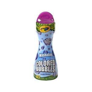 Crayola Washable Colored Bubbles - Purple Pizzazz - 1