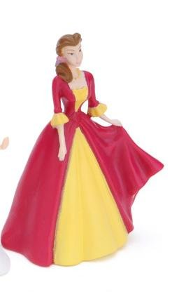 Disney Princess Classic Belle Figure 3""