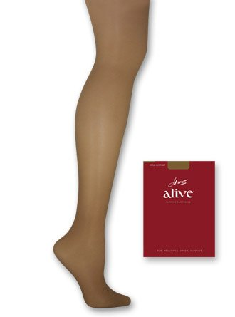 Hanes Hosiery Alive Full Support Control Top Pantyhose 810 B/Little ...