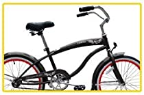 "Micargi Famous for Boy - Grey - Beach Cruiser Bike Bicycle, 20"" Wheel"