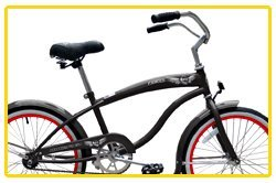 Micargi Famous for Boy - Grey - Beach Cruiser Bike Bicycle, 20