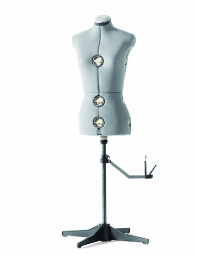 Review Of SINGER DF150G Adjustable Dress Form, Gray, Medium