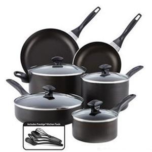 Farberware Cookware 21572 Fw Nonstick 14 Pc Set Dw Safe (21572)