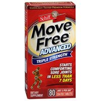 Schiff, Move Free Advanced : 80 Tablets ( Multi-Pack)