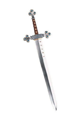 Knights Sword Medieval Reniassance Dark Ages Weapon Theatre Costumes Accessory