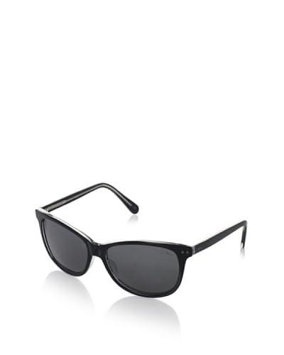 Cole Haan Women's Polarized Wayfarer Sunglasses, Black