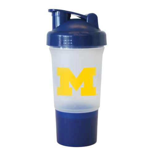 Ncaa Michigan Wolverines 16-Ounce Protein Shake Bottle front-556417