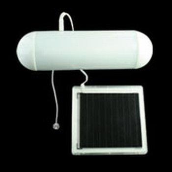 PIFCO SOLAR SHED LIGHT - 150mm Fluorescent Tube - No Cost Energy, Wireless Lighting.