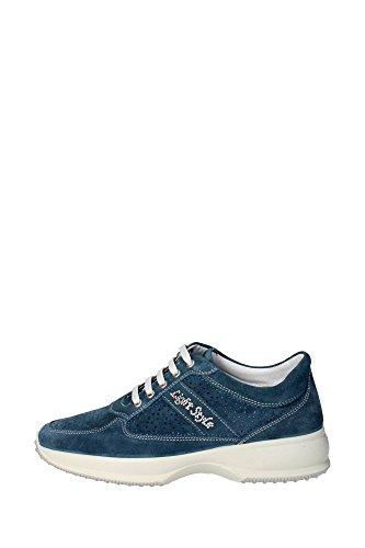 Imac 31641 Sneakers Donna Camoscio Blu Blu 39