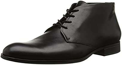 Kenzo Danny, Desert boots homme, Noir (Box Calf Black), 42 EU