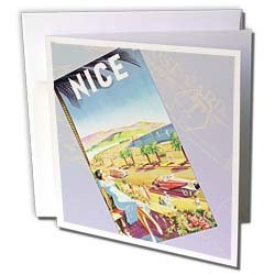 PS Vintage - Vintage Nice Travel Postcard - Greeting