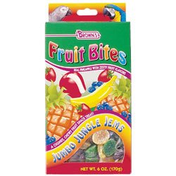Cheap Brown's Fruit Bites Jumbo Jungle Jems Bird Treats (6-oz box) (9559:4037201)