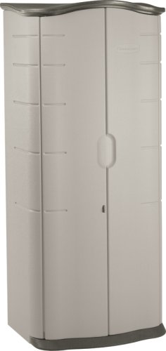 Rubbermaid 3749 Vertical Storage Shed, 17-cubic ft