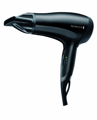 D3010 Hair Dryer - 2000 W D3010 Black 4008496759675 By Remington