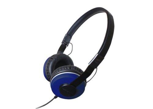 Zumreed Zhp-500 Compact Foldable Stereo Headphones, Blue