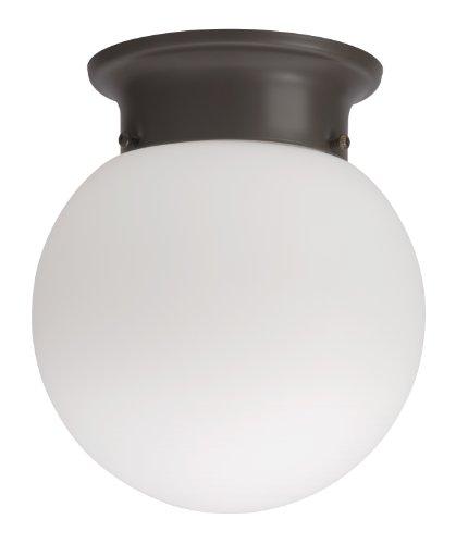 Lithonia 11981 Bz M4 Round 6-Inch Ceiling Globe, Bronze