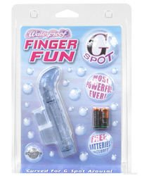 Pipedream Productions Finger Fun G-spot, Blue у лучшие смазки для ctrcf гладкий