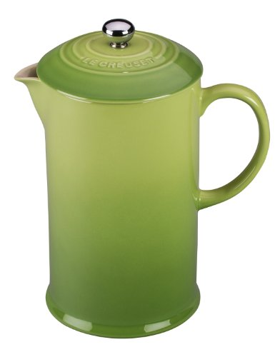 Le Creuset Stoneware 27-Ounce French Press, Palm (Palm Coffee Maker compare prices)