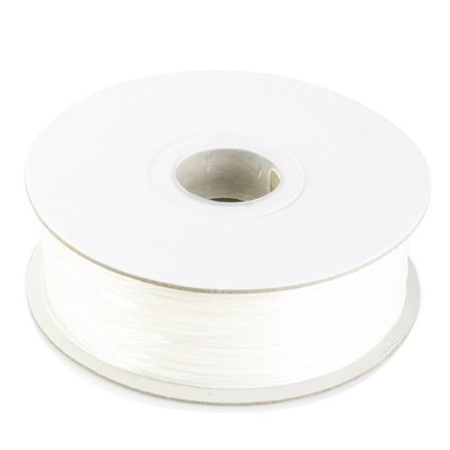 Barsoom White 1.75mm 2.6lbs/1.2kg Natural PLA 3D Filament on Spool for MakerBot RepRap MakerGear Solidoodle Ultimaker & Up! 3D Printer