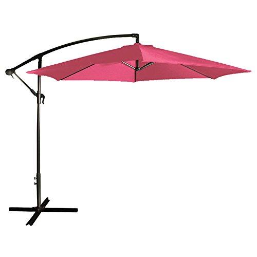 parasol-deporte-rond-3m-de-diametre-fuchsia