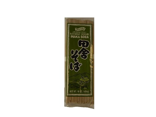 Shirakiku Soba Inaka With Yamaimo, 16-Ounce Units (Pack of 16)