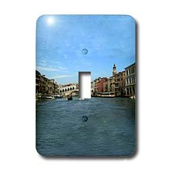 Vacation Spots - The Rialto Bridge Venezia Italy - Light Switch Covers - single toggle switch