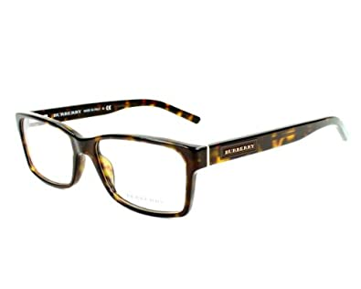 Burberry Eyeglass Frame Warranty : Amazon.com: Burberry BE2108 Eyeglasses-3001 Black-52mm ...
