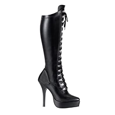 High-Heels-Stiefel: Heels Stiefel Kunstleder