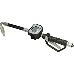 Roughneck Digital Oil Control Valve Meter - 7-1500 PSI Pressure Range