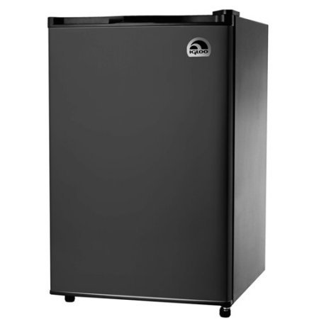 IGLOO FR464-BLACK 4.5 cu. ft.Three Full-Width, Adjustable Shelves Mini Refrigerator in Black (Refrigerator Design compare prices)