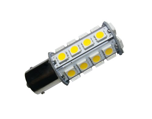 Grv Ba15S 1156 1141 High Power Car Led Bulb 30-5050Smd Ac/Dc 12V-24V Warm White Pack Of 10