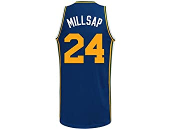 Paul Millsap Utah Jazz Navy NBA Youth Swingman Revolution 30 Jersey by adidas
