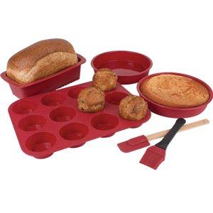 Silicone Bakeware Set 6Pc