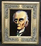 Haunted Picture with Frame - Spooky Guy - Watches You Everywhere You Go - Magic Trick