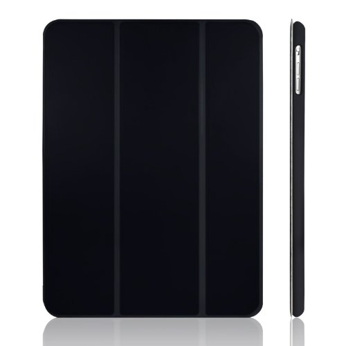 JETech iPad Air Case Slim-Fit Smart Case Cover for Apple iPad Air iPad 5 with Auto Sleep/Wake Feature (Black) (Ipad Air Cover Auto compare prices)