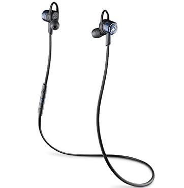 【国内正規品】PLANTRONICS Bluetooth ワイヤレスヘッドセット(ステレオイヤホンタイプ) BackBeat GO3 コバルトブラック BACKBEATGO3-CB
