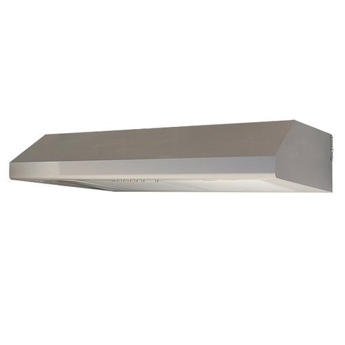 "Windster Ws-5830 30"" Under Cabinet Range Hood With 680 Cfm And Aluminum Filters, Stainless Steel"