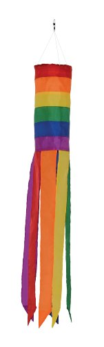 In the Breeze Rainbow Column Value Sock/Windsock, 33-Inch