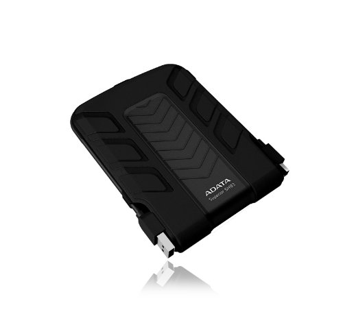 Adata SH93 2.5 inch 750GB External Shockproof Hard Drive - Black