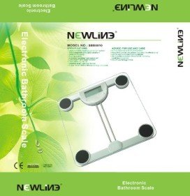 Cheap Newline Best Value Digital Bathroom Glass Scale (SBB0810-SL)