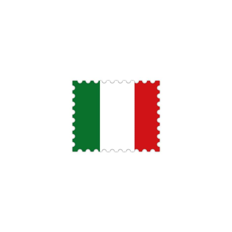 Milan Italy World Flag Stamp Car Bumper Sticker Decal 3/'/' or 5/'/'