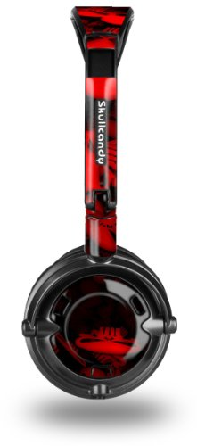 Skullcandy Lowrider Headphone Skin - Skulls Confetti Red - (Headphones Not Included)