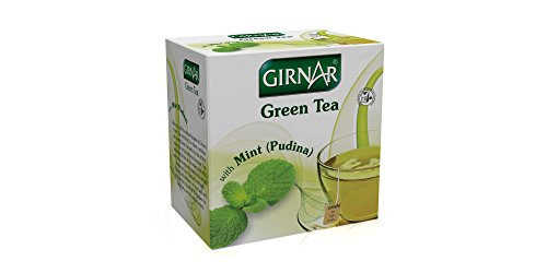 Girnar Green Tea With Mint