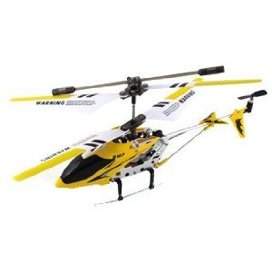 Syma S107 R/C Helicopter with Built-in Gyroscope Remote - Yellow