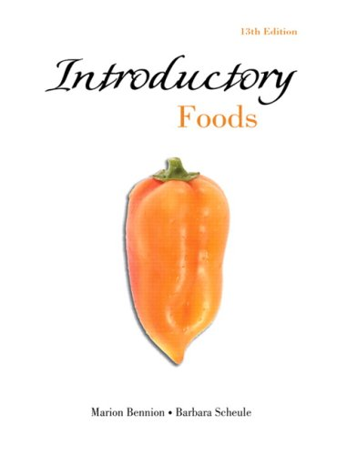 Introductory Foods (13th Edition)