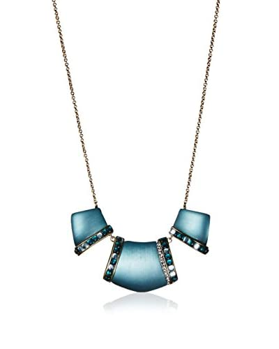 Alexis Bittar 3 Part Bib-Cabochon Strip Necklace