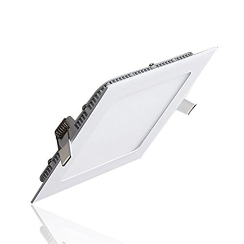 S&G® LED Ceiling Light, Ultrathin Suqare Kitchen Ceiling Light Fixture, 12W 850LM 4000K(Natural White), The Hole Size:155MM, AC85-265V, Budget-friendly, LED Driver Include (Led Light Panel Ceiling compare prices)
