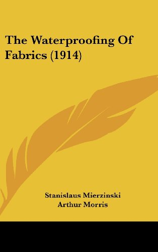 The Waterproofing of Fabrics (1914)